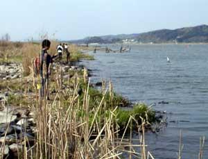 八郎潟 宿泊 釣り